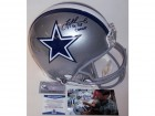 Troy Aikman Autographed Hand Signed Dallas Cowboys Authentic Full Size Helmet - BAS Beckett