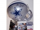 Roger Staubach & Tony Dorsett Autographed Hand Signed Dallas Cowboys Authentic Full Size Helmet - PSA/DNA
