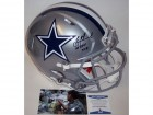Troy Aikman Autographed Hand Signed Dallas Cowboys Full Size Speed Authentic Helmet - BAS Beckett