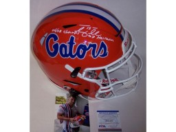 Tim Tebow Autographed Hand Signed Florida Gators Full Size Speed FLEX Authentic Helmet - PSA/DNA