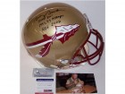 Bobby Bowden Autographed Hand Signed Florida State Seminoles Authentic Helmet - PSA/DNA