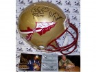 Bobby Bowden & Charlie Ward Hand Signed Florida State Seminoles Authentic Helmet - PSA/DNA