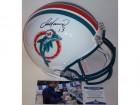 Dan Marino Autographed Hand Signed Miami Dolphins Throwback Authentic Full Size Helmet - BAS Beckett