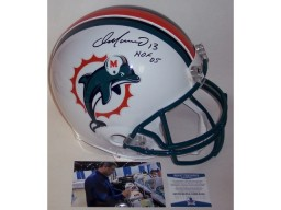 Dan Marino Autographed Hand Signed Miami Dolphins Full Size Authentic Proline Helmet - BAS Beckett