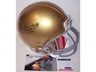 Lou Holtz Autographed Hand Signed Notre Dame Fighting Irish Full Size Authentic Proline Helmet - PSA/DNA