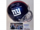 Eli Manning Autographed Hand Signed New York Giants Authentic Helmet - PSA/DNA