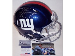 Eli Manning Autographed Hand Signed New York Giants Speed Authentic Full Size Helmet - PSA/DNA