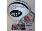 Joe Namath Autographed Hand Signed New York Jets Throwback Authentic Full Size Helmet - PSA/DNA