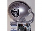 Marcus Allen Autographed Hand Signed Los Angeles Raiders Full Size Authentic Helmet - BAS Beckett