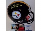Terry Bradshaw Autographed Hand Signed Pittsburgh Steelers Full Size Authentic Helmet - BAS Beckett