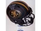 Joe Montana Autographed Hand Signed San Francisco 49ers Eclipse Speed Full Size Authentic Helmet - BAS Beckett