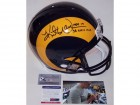 Kurt Warner Autographed Hand Signed St. Louis Rams Throwback Full Size Authentic Helmet - PSA/DNA