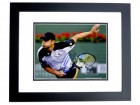 Andy Roddick Signed - Autographed Tennis 11x14 inch Photo BLACK CUSTOM FRAME - Guaranteed to pass PSA or JSA