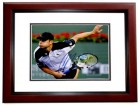 Andy Roddick Signed - Autographed Tennis 11x14 inch Photo MAHOGANY CUSTOM FRAME - Guaranteed to pass PSA or JSA