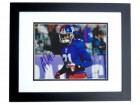 Aaron Ross Signed - Autographed New York Giants 8x10 inch Photo BLACK CUSTOM FRAME - Guaranteed to pass PSA or JSA - 2x Super Bowl Champion