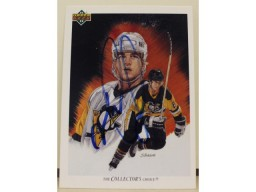 Mark Recchi Pittsburgh Penguins Autographed 1991-92 Upper Deck Card