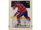 Mark Recchi Montreal Canadiens Autographed 1995-96 Topps Card
