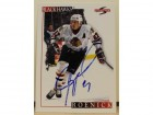 Jeremy Roenick Chicago Blackhawks Autographed 1995-96 Score Card
