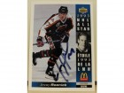 Jeremy Roenick Chicago Blackhawks Autographed 1993-94 Upper Deck McDonalds Card