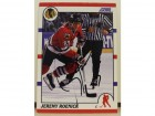 Jeremy Roenick Chicago Blackhawks Autographed 1990-91 Score Card