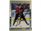 Jeremy Roenick Chicago Blackhawks Autographed 1992-93 Score Young Superstars Card