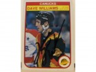 Dave Williams Vancouver Canucks Autographed 1982-83 O-Pee-Chee Card