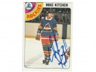 Mike Kitchen Colorado Rockies Autographed 1978-79 O-Pee-Chee Card