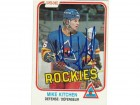 Mike Kitchen Colorado Rockies Autographed 1981-82 O-Pee-Chee Card