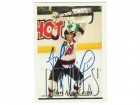 Rod Langway Washington Capitals Autographed 1984-85 O-Pee-Chee Card