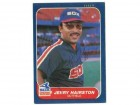 Jerry Hairston Chicago White Sox Autographed 1986 Fleer Card