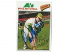 Paul Mitchell Oakland Athletics Autographed 1977 Topps Card