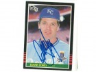 Dane Iorg Kansas City Royals Autographed 1985 Donruss Card