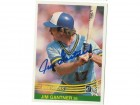 Jim Gantner Milwaukee Brewers Autographed 1984 Donruss Card