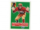 Volney Peters Washington Redskins Autographed 1994 Topps Archives Card