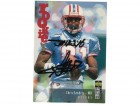 Chris Sanders Houston Oilers Autographed 1995 Upper Deck Collectors Choice Card