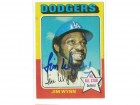 Jim Wynn Los Angeles Dodgers Autographed 1975 Topps Card