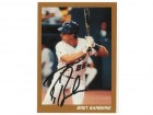 Bret Barberie Montreal Expos Autographed Custom Card