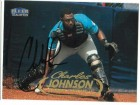 Charles Johnson Florida Marlins Autographed 1998 Fleer Card