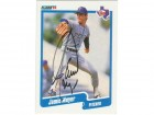 Jamie Moyer Texas Rangers Autographed 1990 Fleer Card