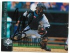 Charles Johnson Florida Marlins Autographed 1998 Upper Deck Card