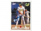 Ben Grieve Oakland Athletics Autographed 1996 Best Card