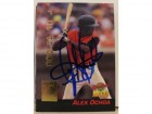 Alex Ochoa Baltimore Orioles Autographed 1994 Signature Rookies Card #19. This item comes with a certificate of authenticity from Autograph-Sports.
