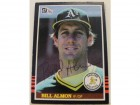 Bill Almon Oakland Athletics Autographed 1985 Donruss Card #589. This item comes with a certificate of authenticity from Autograph-Sports.