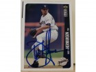 Dustin Hermanson San Diego Padres Autographed 1996 UD Collectors Choice Card #702. This item comes with a certificate of authenticity from Autograph-Sports.