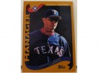 Jerry Narron Texas Rangers Autographed 2001 Topps Card #282. This item comes with a certificate of authenticity from Autograph-Sports.