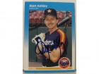 Alan Ashby Houston Astros Autographed 1987 Fleer Card #50. This item comes with a certificate of authenticity from Autograph-Sports.