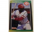 Lloyd McClendon Cincinnati Reds Autographed 1989 Donruss Card #595. This item comes with a certificate of authenticity from Autograph-Sports.