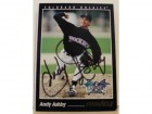 Andy Ashby Colorado Rockies Autographed 1993 Pinnacle Card #572. This item comes with a certificate of authenticity from Autograph-Sports.