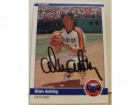 Alan Ashby Houston Astros Autographed 1984 Fleer Card #220. This item comes with a certificate of authenticity from Autograph-Sports.