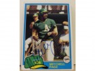 Mitchell Page Oakland Athletics Autographed 1981 Topps Card #35. This item comes with a certificate of authenticity from Autograph-Sports.